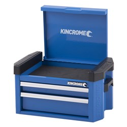 CONTOUR® Mini Tool Chest 2 Drawer Electric Blue™