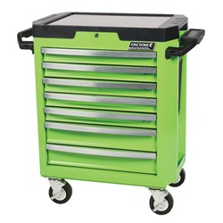 CONTOUR® Tool Trolley 7 Drawer Green