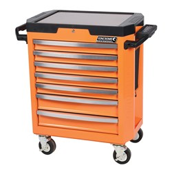 CONTOUR® Tool Trolley 7 Drawer Flame Orange™