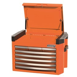 CONTOUR® Tool Chest 8 Drawer Flame Orange™