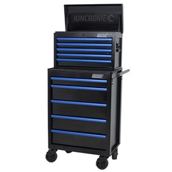 Bluesteel® 10 Drawer Chest and Trolley Combo