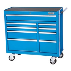 BLUESTEEL® Extra Wide Tool Trolley 9 Drawer