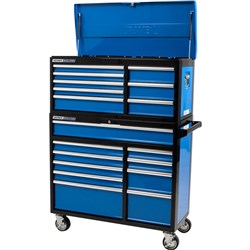 Evolution Extra Wide Deep Chest and Trolley Combo 18 Drawer