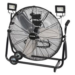 "Industrial Mobile Cage Fan 24"" (600mm)"