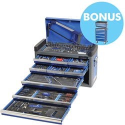 "EVOLVE® Tool Chest 182 Piece 1/4, 3/8 & 1/2"" Square Drive"