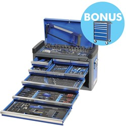 "EVOLVE® Tool Chest 146 Piece 1/4, 3/8 & 1/2"" Square Drive"