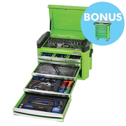 "CONTOUR® Tool Chest 236 Piece 1/4, 3/8 & 1/2"" Square Drive"