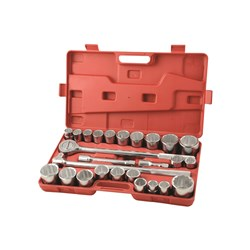 "Socket Set 26 Piece 3/4"" Drive - Metric & Imperial"
