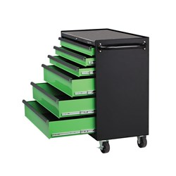 Wide Tool Trolley 6 Drawer