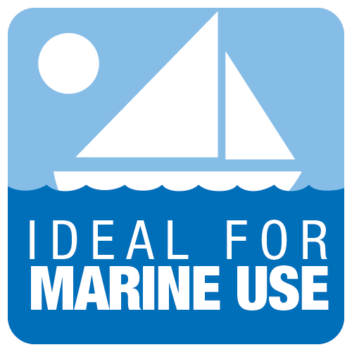 IDEAL FOR MARINE USE