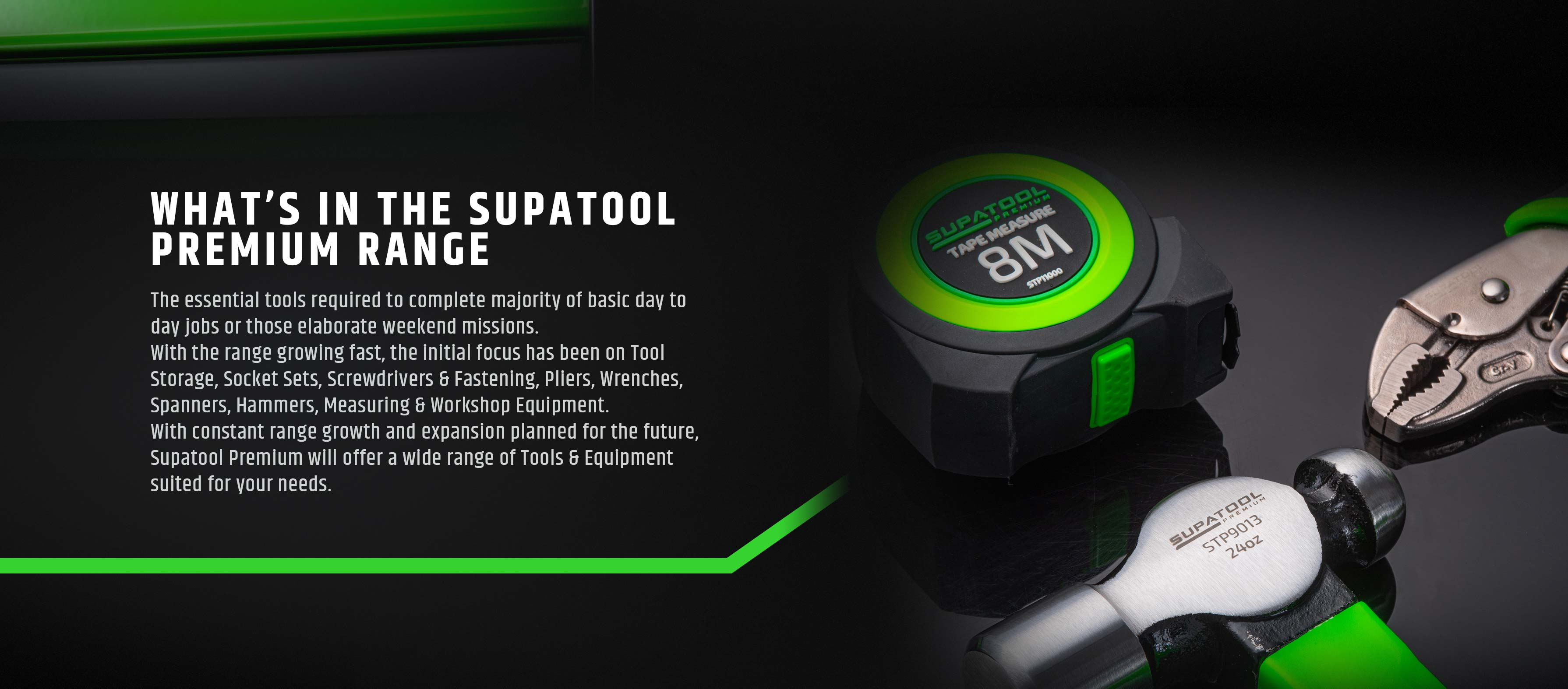 What's in the Supatool premium range