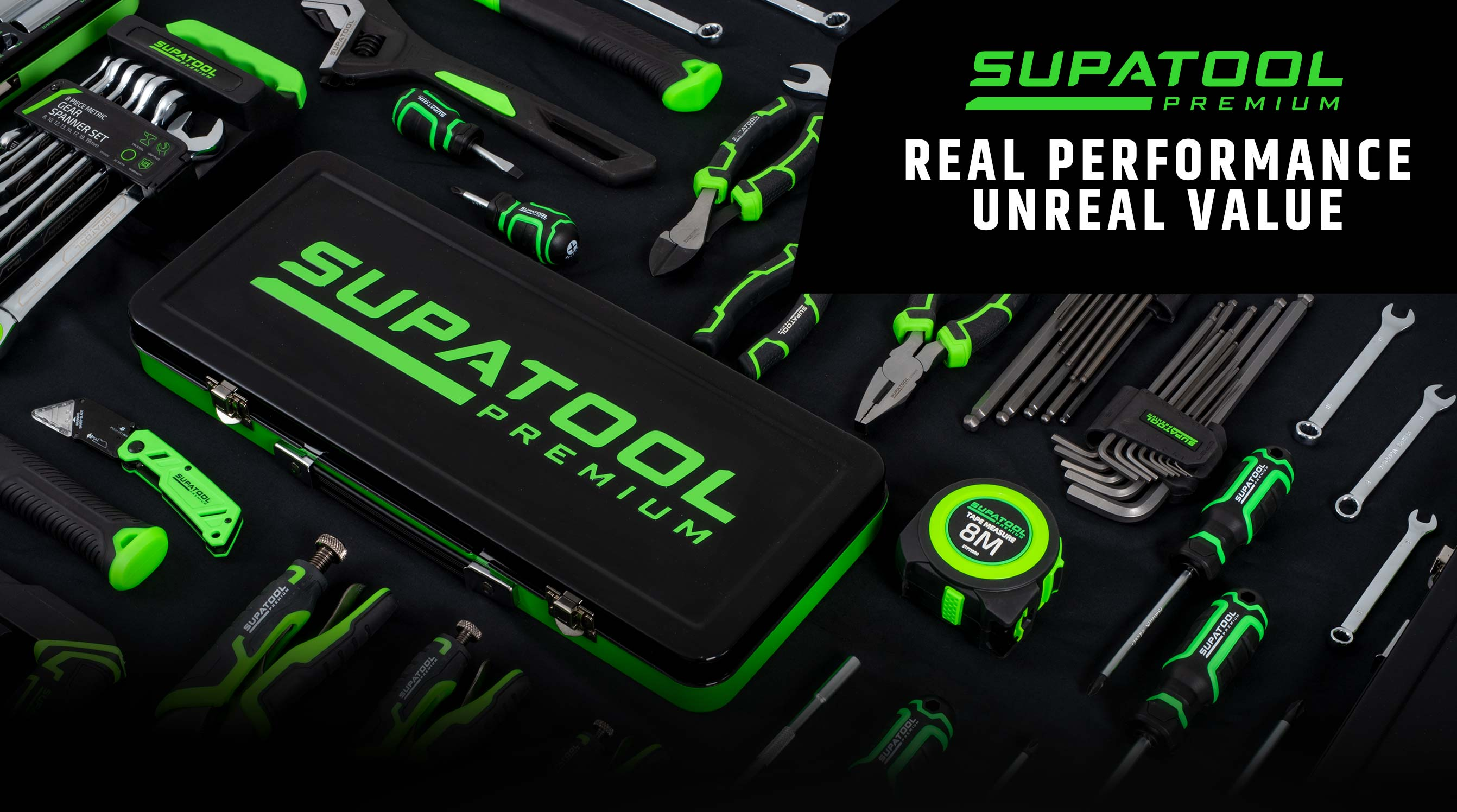 Supatool Premium Real Performance Unreal Value