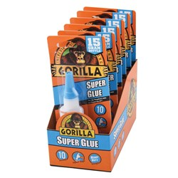 Gorilla® Super Glue 15g 6 Piece