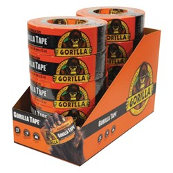 Black Gorilla® Tape 32m x 48mm 10 Piece