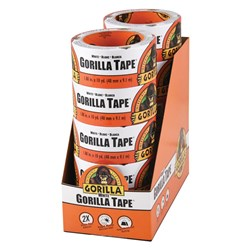 White Gorilla® Tape 9.14m x 48mm 10 Piece