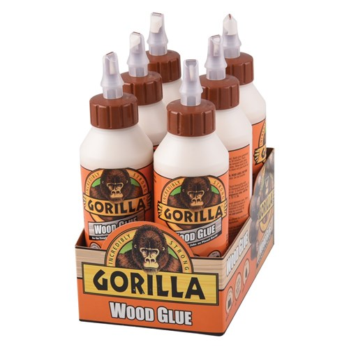 how to use gorilla glue on wood