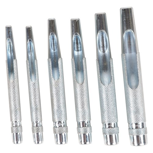 Hollow Punch Set 6 Piece