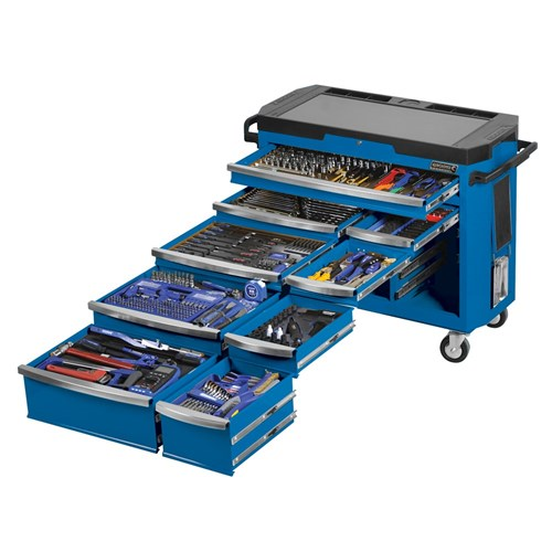 "Tools Only - CONTOUR® Tool Trolley 484 Piece 1/4, 3/8 & 1/2"" Drive"