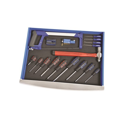 "CONTOUR® Tool Workshop 208 Piece 1/4, 3/8 & 1/2"" Drive"