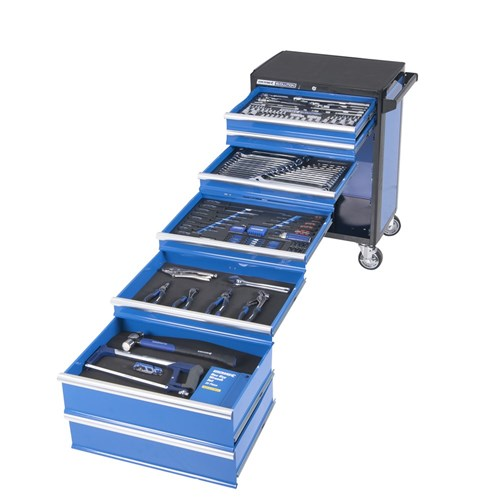 "EVOLUTION Tool Trolley 232 Piece 5 Drawer 1/4"", 3/8"" and 1/2"" Drive"