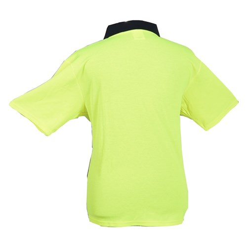 Short Sleeve Polo - Hi-Vis Medium