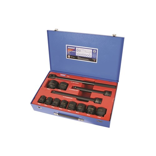 "Impact Socket Set 13 Piece 3/4"" Drive"