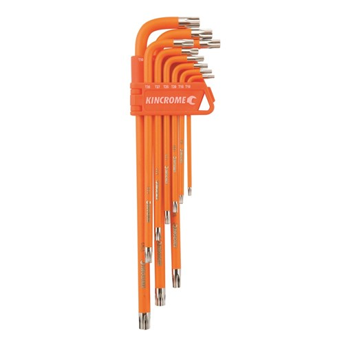 Tamperproof TORX® Set Long Series 9 Piece