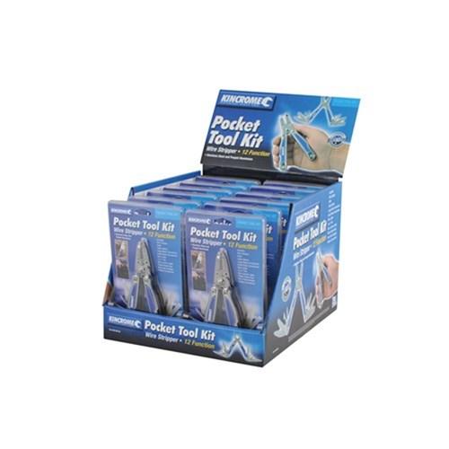 Pocket Tool Kit Wire Stripper 12 Function Cut Scrape