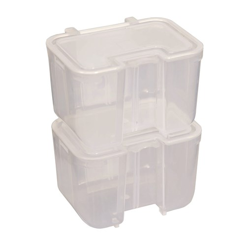 Clear Stackable Storage Tubs 6 Pack