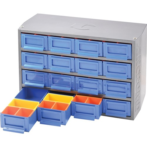 Multi Cabinet 16 Drawer 64 Trays Interlockable Storage