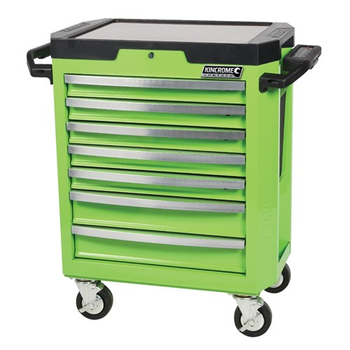 contour® tool trolley 7 drawer monster green™   tool trolleys (17 ...