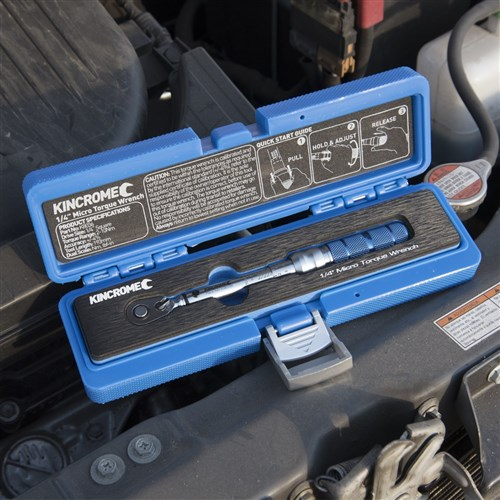 "Torque Wrench Micro Click-Type 1/4"" Drive"