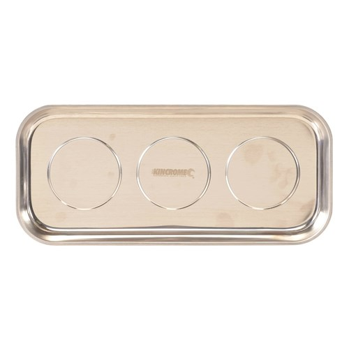 Triple Magnetic Parts Tray Rectangle