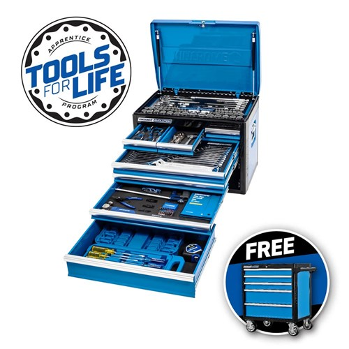 "EVOLUTION Tool Chest 207 Piece 7 Drawer Deep 1/4, 3/8 & 1/2"" Drive"