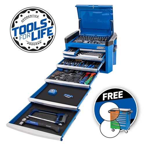 "CONTOUR® Tool Chest 246 Piece 8 Drawer 1/4, 3/8 & 1/2"" Drive"