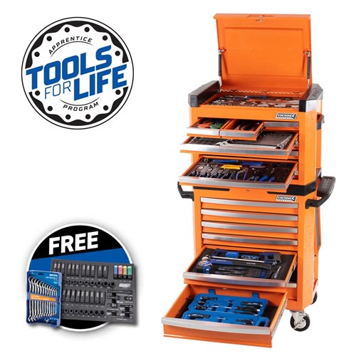 "CONTOUR® Tool Workshop 242 Piece 15 Drawer 1/4, 3/8 & 1/2"" Drive"