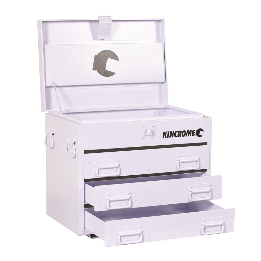 Truck Box 3 Drawer White Tool Boxes Amp Storage 85