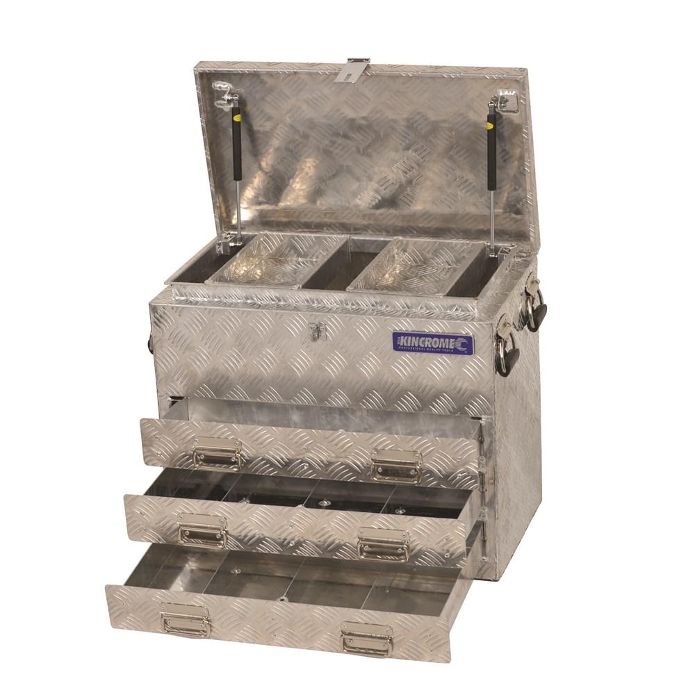 Aluminium Truck Box 3 Drawer Vehicle Storage 46