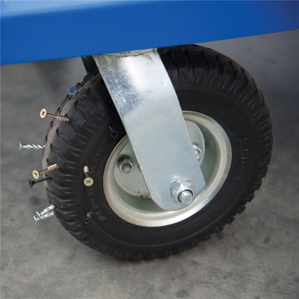 Heavy Duty Steel Trolley 300KG | Platform Trolleys (5) - Kincrome