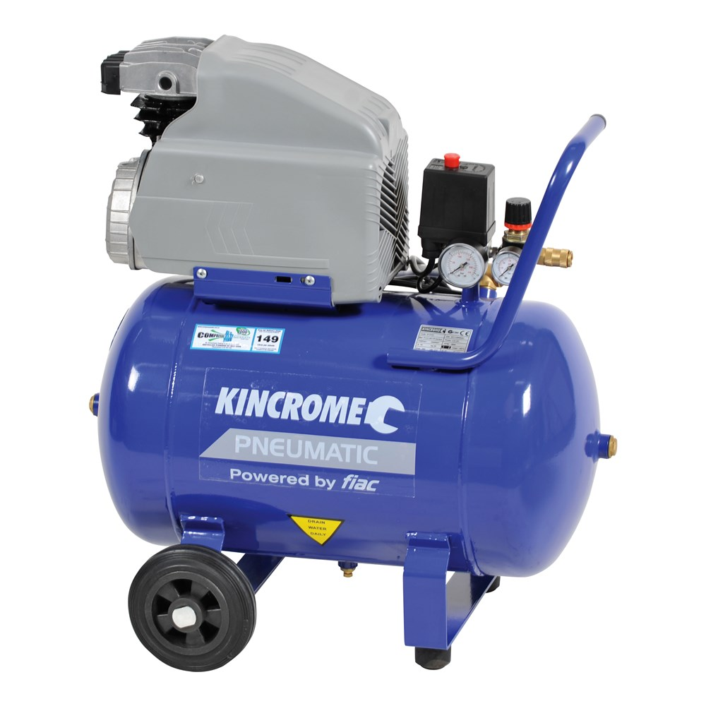 Air Compressor 2 5hp 40l Air Compressors 7 Kincrome