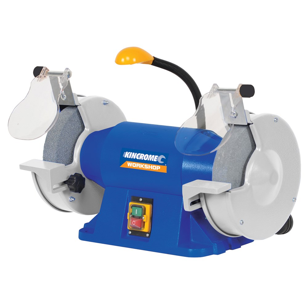 Bench Grinder 200mm 8 Quot With Flexible Led Light Bench