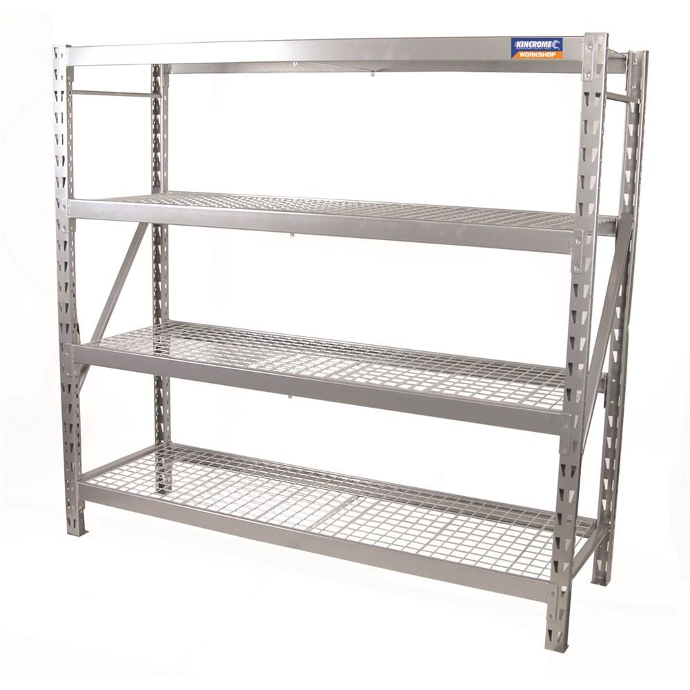 Industrial Shelving 4 Shelf Garage Storage 15