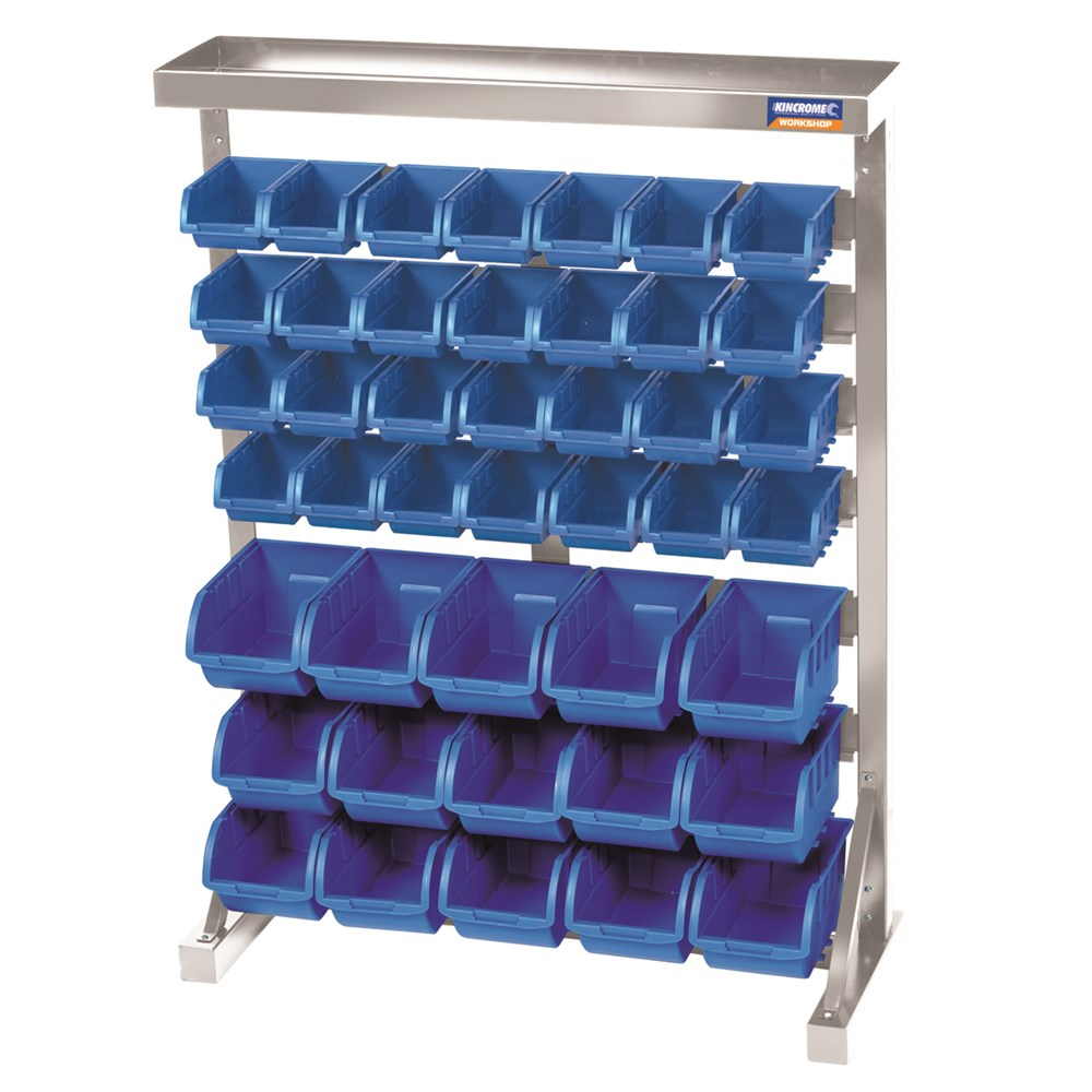Storage Rack 43 Tub 7 Shelf   Garage Storage (15) - Kincrome ...