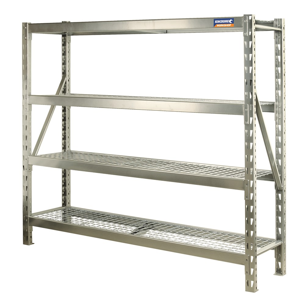 Industrial Shelving 4 Tier 1960mm Garage Storage 15