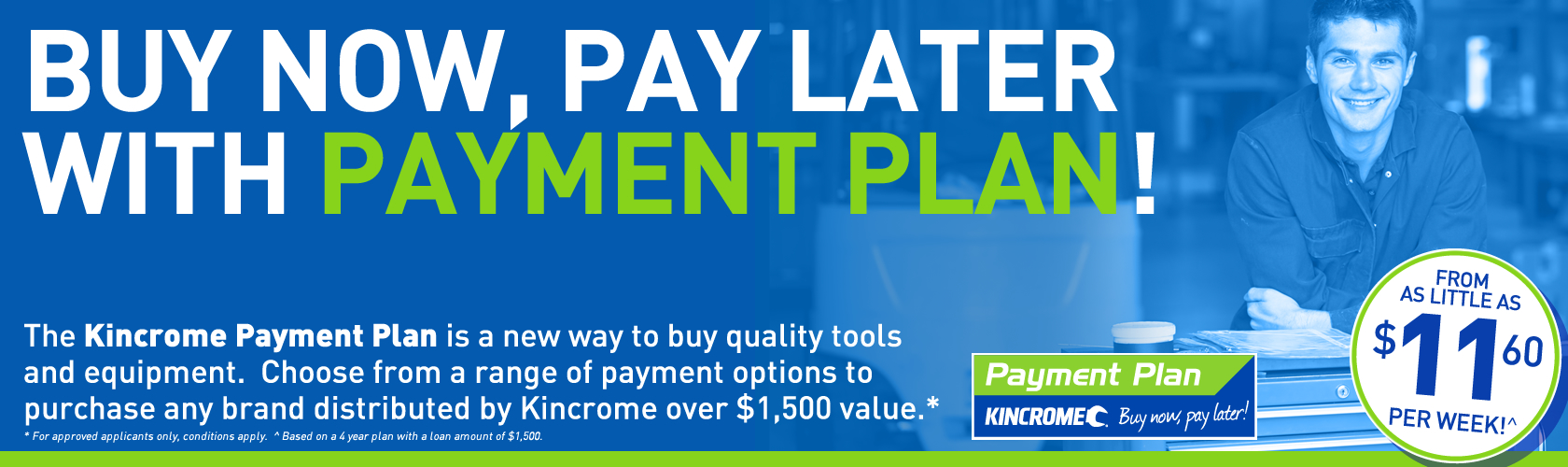 Payment-Plan About - Kincrome