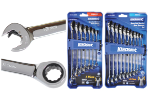 Kincrome Ratcheting Gear Spanners